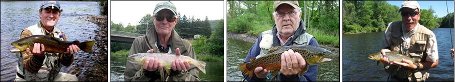 Fly fishing Trout in the Adirondacks